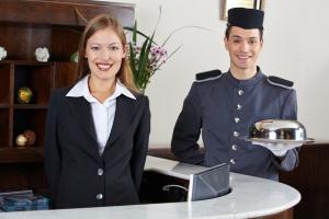 imagen Recepcionista de hoteles